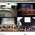 Folk DC synchronous concert pictures