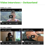 Rapport interviews on the website