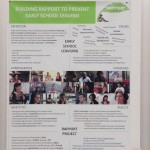 Rapport poster at ICERI 2013