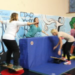 Training circus activities in Perugia